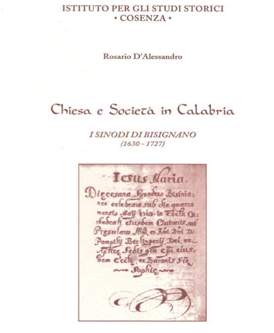 Chiesa e Società in Calabria