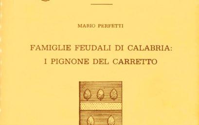 Famiglie Feudali in Calabria