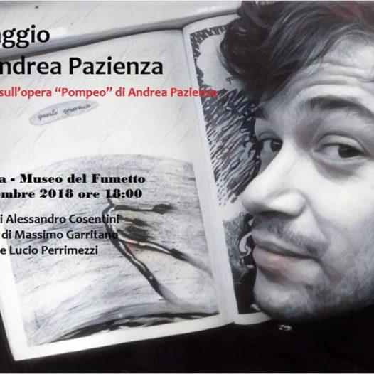 GLI ULTIMI GIORNI DI POMPEO omaggio ad Andrea Pazienza