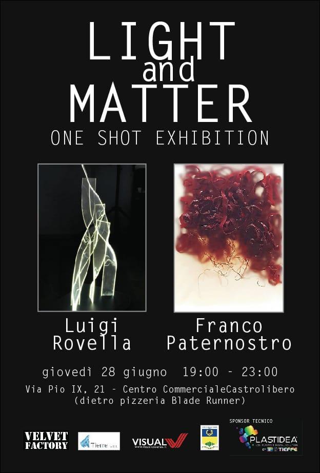 Mostra arte contemporanea Rovella – Paternostro