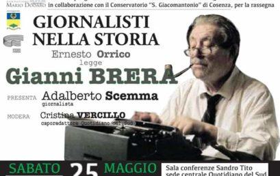 Giornalisti nella Storia – Ernesto Orrico legge Gianni Brera