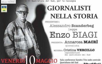Giornalisti nella Storia – Alessandro Scanderbeg legge Enzo Biagi