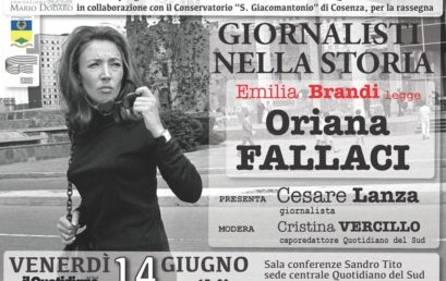 Giornalisti nella Storia – Emilia Brandi legge Oriana Fallaci