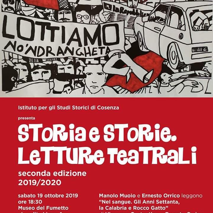 """Storia e Storie – """"Nel sangue. Gli anni settanta, la Calabria e Rocco Gatto"""""""