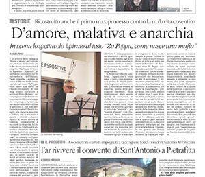 Za Peppa d'Amore, Malavita ed Anarchia